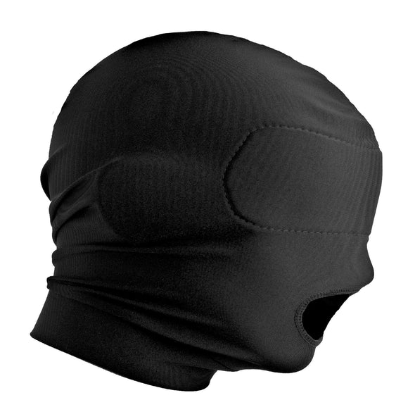 Disguise Open Mouth Hood with Padded Blindfold - MyPrivateJoy