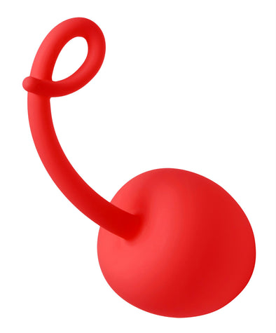Red Apple Silicone Kegel Exerciser - MyPrivateJoy