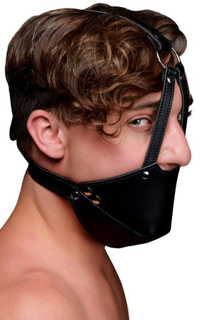 Mouth Harness with Ball Gag - MyPrivateJoy