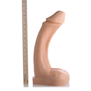 The Annihilator XXXL 18 Inch Dildo Flesh - MyPrivateJoy