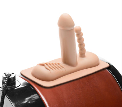 Double Penetration Attachment for Saddle Sex Machine - MyPrivateJoy