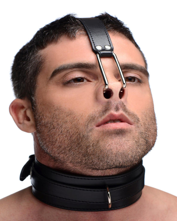 Collar with Nose Hook - MyPrivateJoy