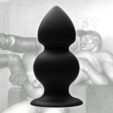 Tom of Finland Weighted Silicone Anal Plug - MyPrivateJoy