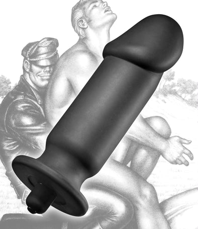 Tom of Finland XL Silicone Vibrating Anal Plug - MyPrivateJoy