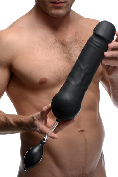 Tom of Finland Toms Inflatable Silicone Dildo - MyPrivateJoy