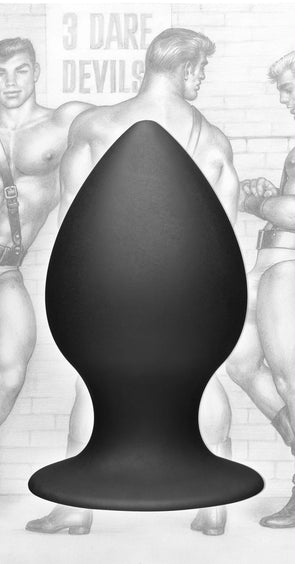 Tom of Finland Large Silicone Anal Plug - MyPrivateJoy