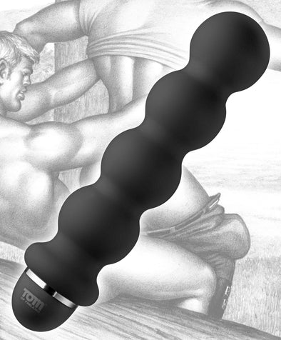 Tom of Finland Stacked Ball 5 Mode Vibe - MyPrivateJoy