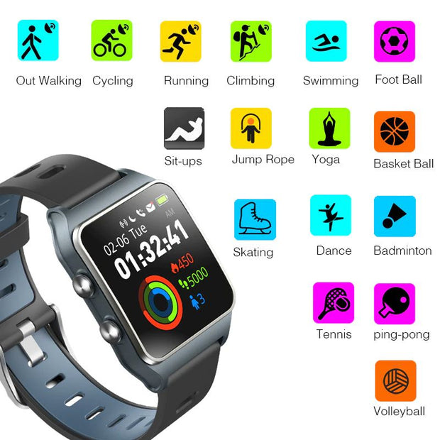 Smart watch BR3 Expert, GPS, 17 modes sports, IP68, Strava