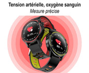 Smart watch LX8 full ecran tactile PPG + ECG  batterie longue durée IP68