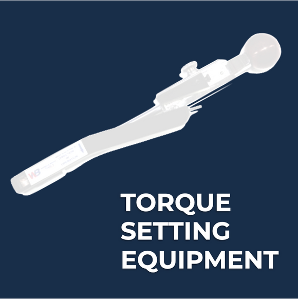TORQUE SETTING EQUIPMENT