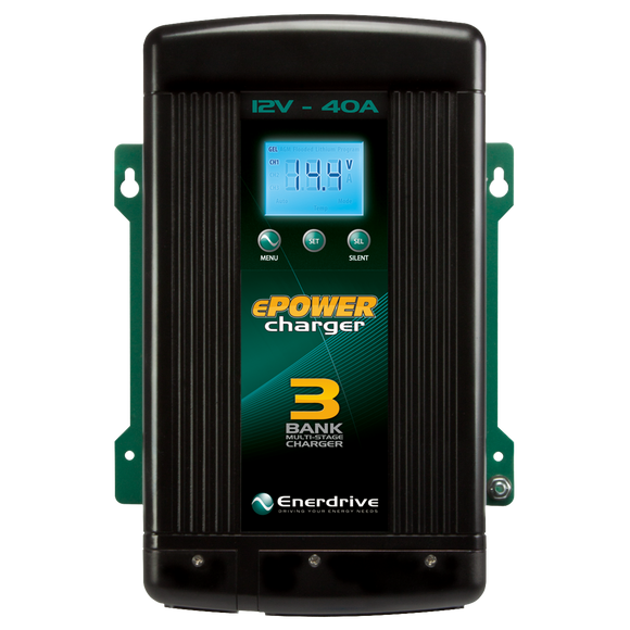 ENERDRIVE ePOWER Smart Charger 40amp / 12v EN31240