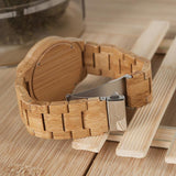 Antique Bamboo Wooden Watch