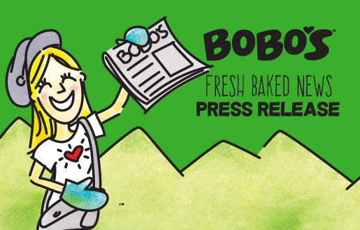 "BAKED WITH LOVE: BOBO'S ""HEALTHCARE HEROES"" BAR SUPPORTS FRONTLINE WORKERS WITH THOUSANDS OF HEALTHY, READY-TO-EAT SNACKS"
