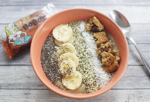 yogurt smoothie bowl high protein snacks