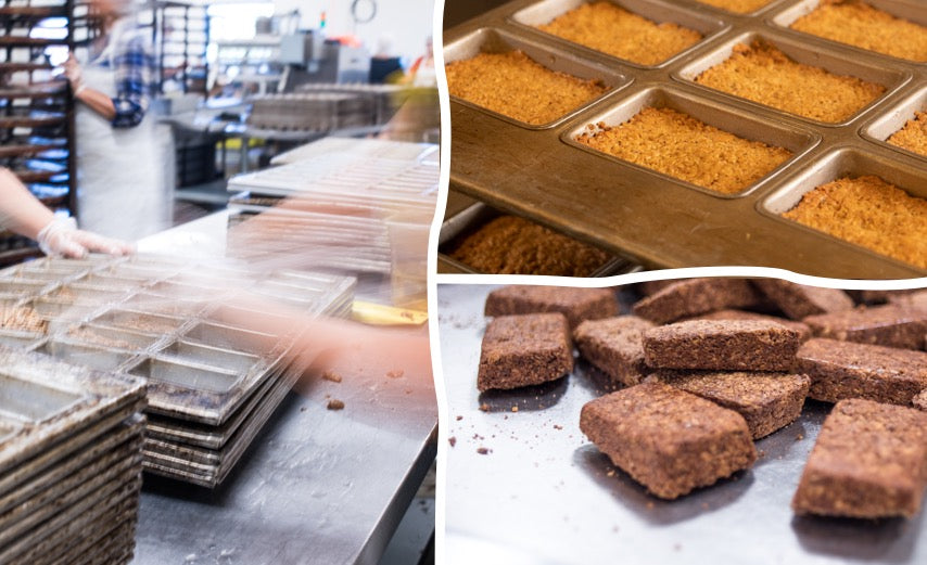 Bobo's Oat Bars Production