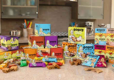 Bobo's oat bar product line