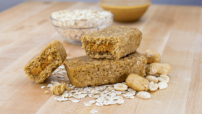 Peanut Butter Stuff'd Oat Bar