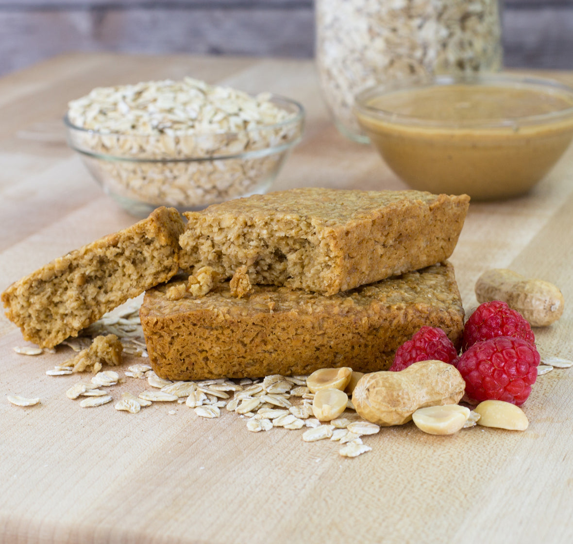 Peanut Butter & Jelly Oat Bar lifestyle image