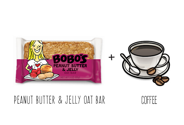 Peanut Butter and Jelly Oat Bar