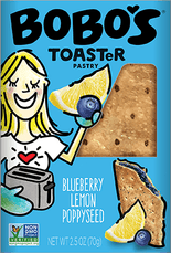 Blueberry Lemon Poppyseed Toaster Pastry