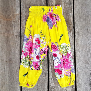Beachside Boho Pants - Yellow