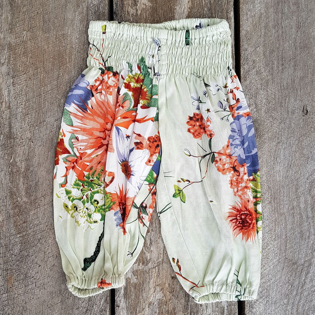 Beachside Boho Pants - Avocado