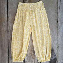 Beachside Boho Pants - Mustard