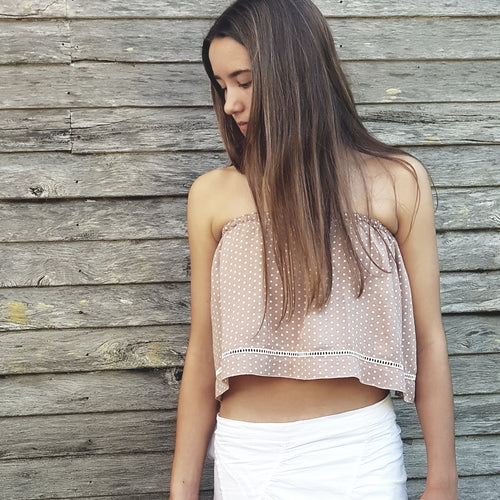 Festival Crop - Dusty Pink