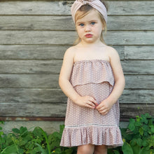 Indigo Summer Dress - Blush