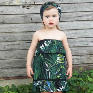 Indigo Summer Dress - Tropical