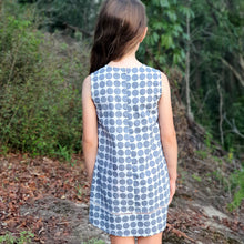 Cotton Tunic Dress - Charcoal Spot