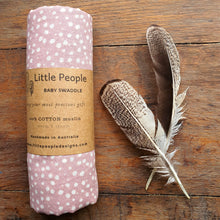 Muslin Swaddle - Dusty Pink - Extra Large