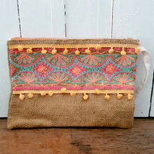 Embroidered Bag - Orange