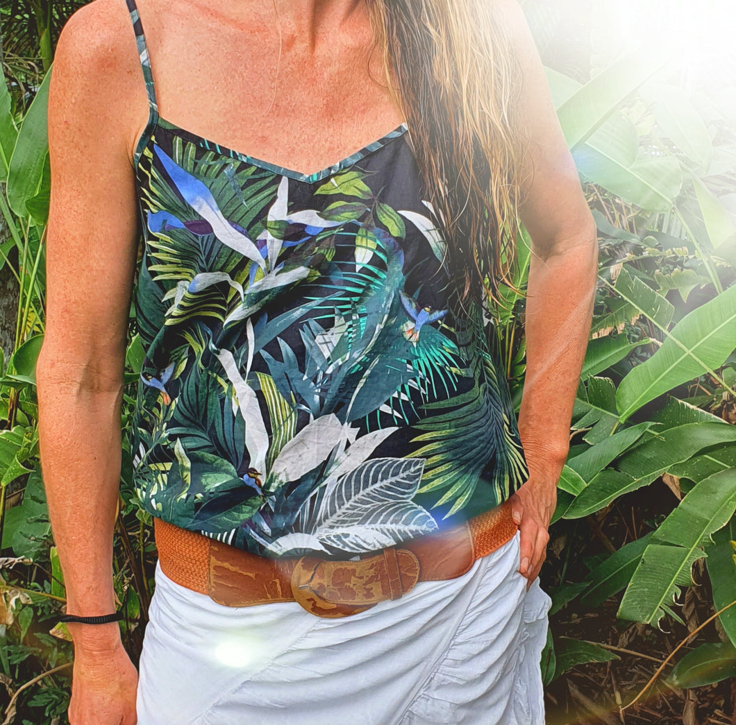 Ladies Tropical Camisole Top