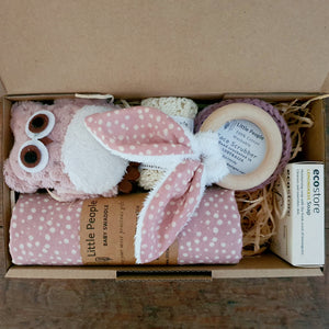 Newborn Gift Box - Blush Dot