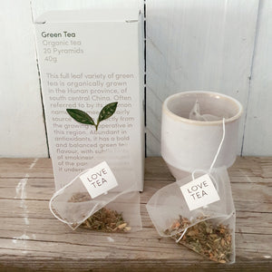LOVE Tea Box - Mustard