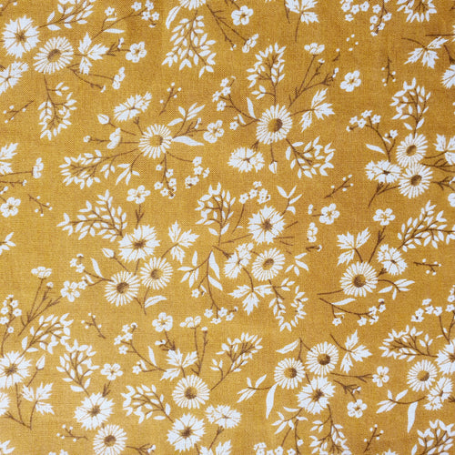 Muslin Swaddle - Mustard Blossom - Extra Large