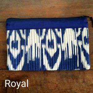 Embroidered Bag - Blue