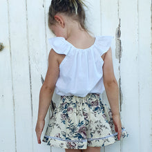 French Cotton Skirt - Vintage Bloom