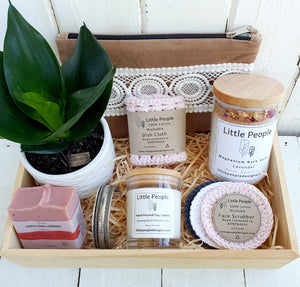 Best Mum in the World Deluxe Gift Box - Blush