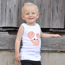 Appliqued Bodysuit - Cooper the Crab