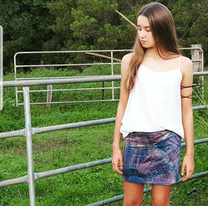 Classic Stretch Skirt - Tie Dye