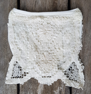 Ivory Vintage Crochet Bloomers
