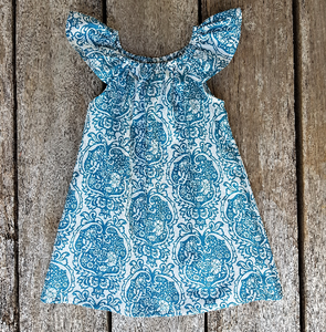 Summer Dress - Turquoise
