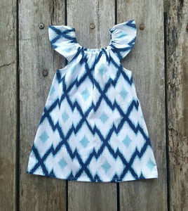 Summer Dress - Summer Blue