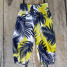 Tropical Boho Pants. Summer Pants. Cotton voile