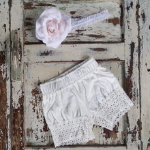Classic Cotton Lace Shorts - Ivory