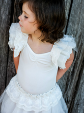 Ivory Lace and Tulle Tutu - lined with cotton silk