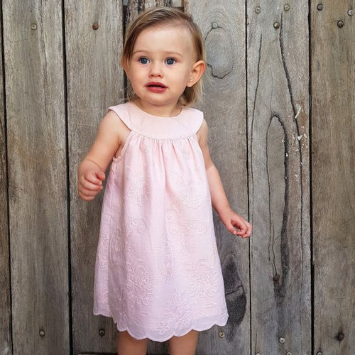 Aura Dress - Dusty Pink