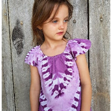 Summer Dress - Purple Tie Dye